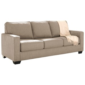 Signature Design by Ashley Zeb Queen Sofa Sleeper
