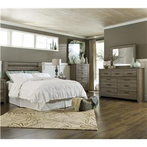 Signature Design by Ashley Zelen 4 Piece Queen Bedroom Group