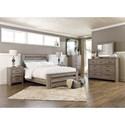 Signature Design by Ashley Zelen Queen Bedroom Group - Item Number: B248 Q Bedroom Group 3