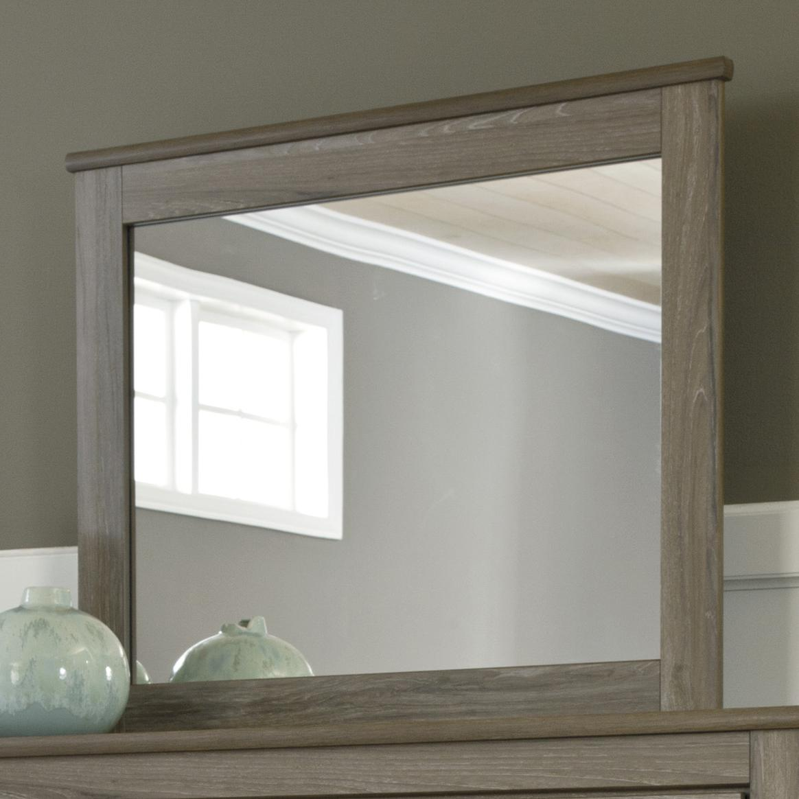 Zelen Mirror by Signature Design by Ashley at HomeWorld Furniture
