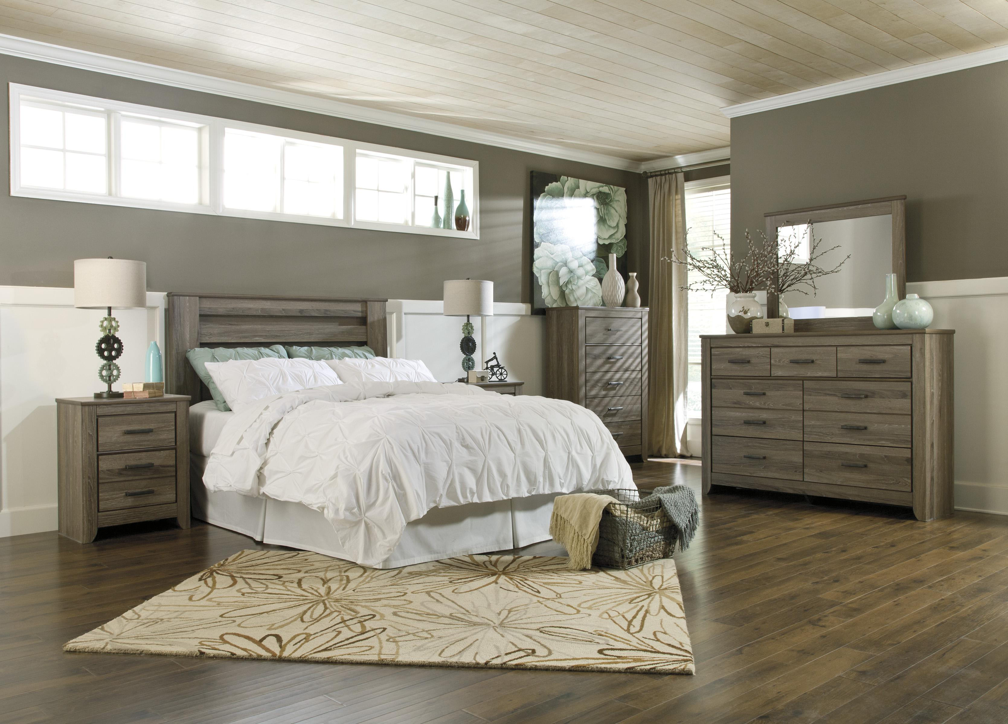 Signature design by ashley zelen b248 67 queen full poster - Ashley furniture full bedroom sets ...