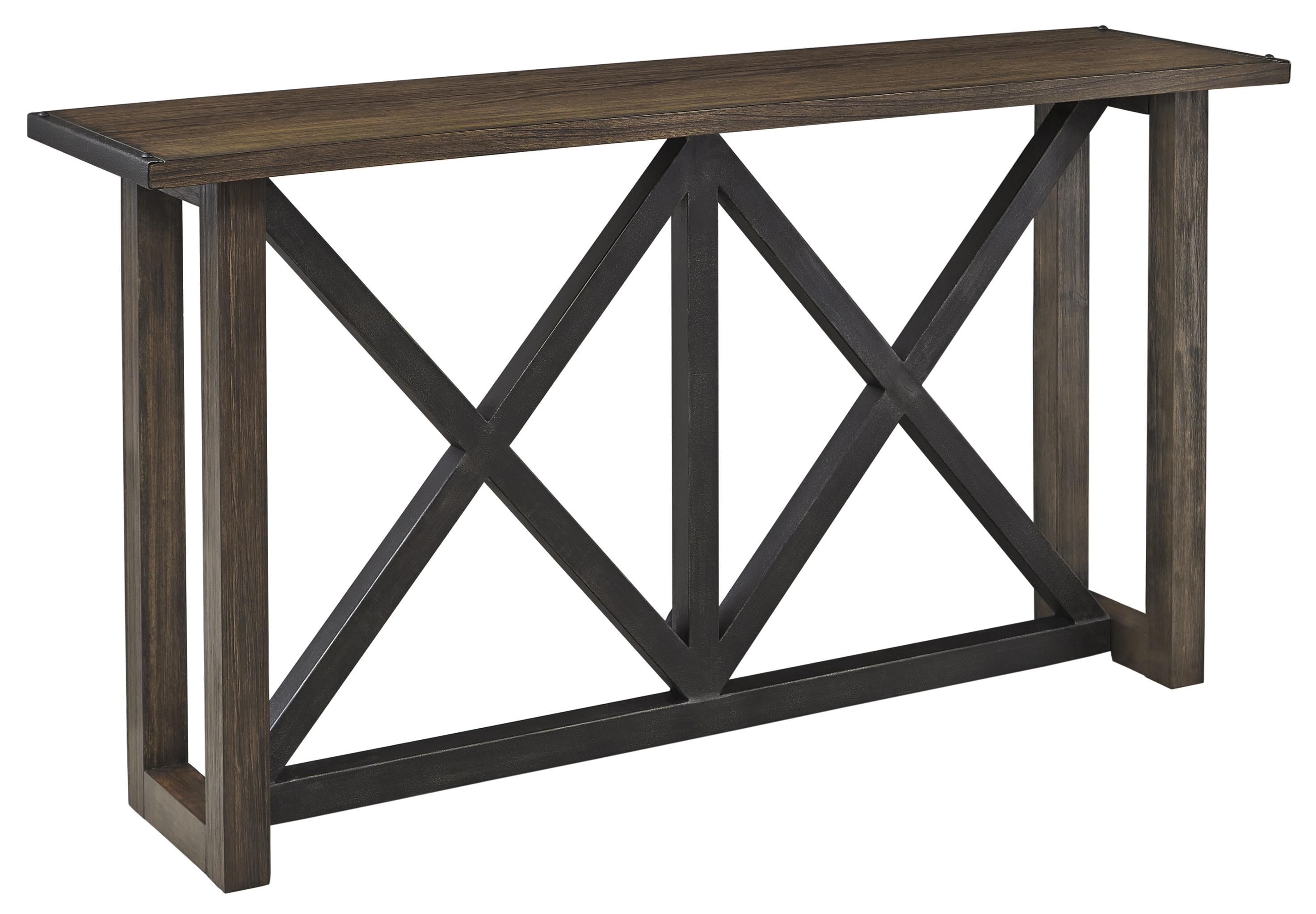 Signature Design by Ashley Zenfield Sofa Table - Item Number: T870-4