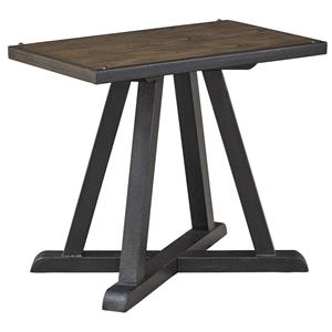 Ashley Signature Design Zenfield Chair Side End Table