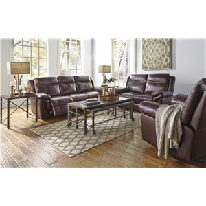 Signature Design by Ashley Zephen Reclining Living Room Group