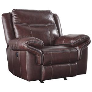 Signature Design by Ashley Zephen Power Rocker Recliner