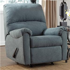 Signature Design by Ashley Zeth - Denim Rocker Recliner