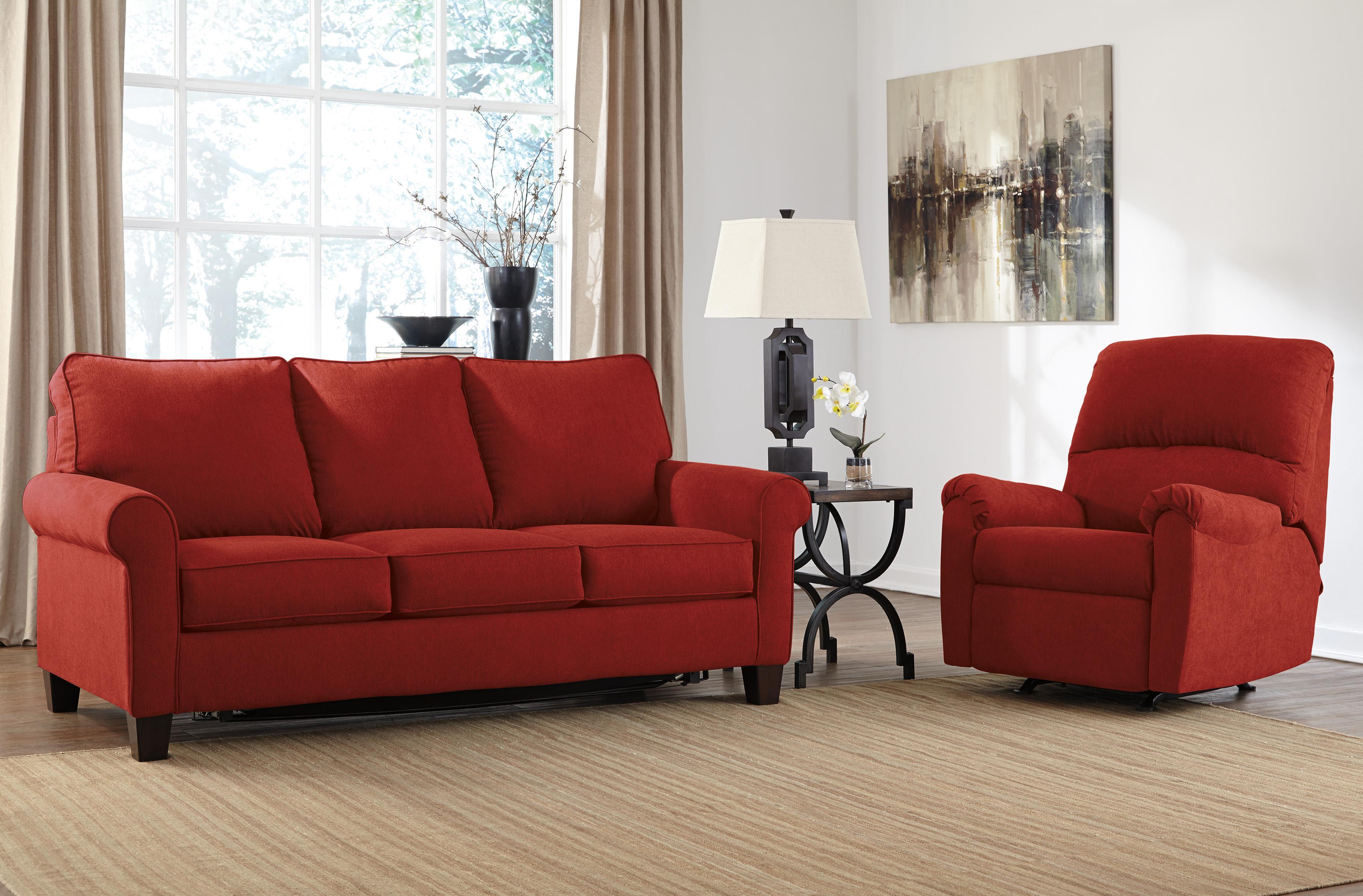 Signature Design by Ashley Zeth - Crimson Stationary Living Room Group - Item Number: 27102 Living Room Group 1