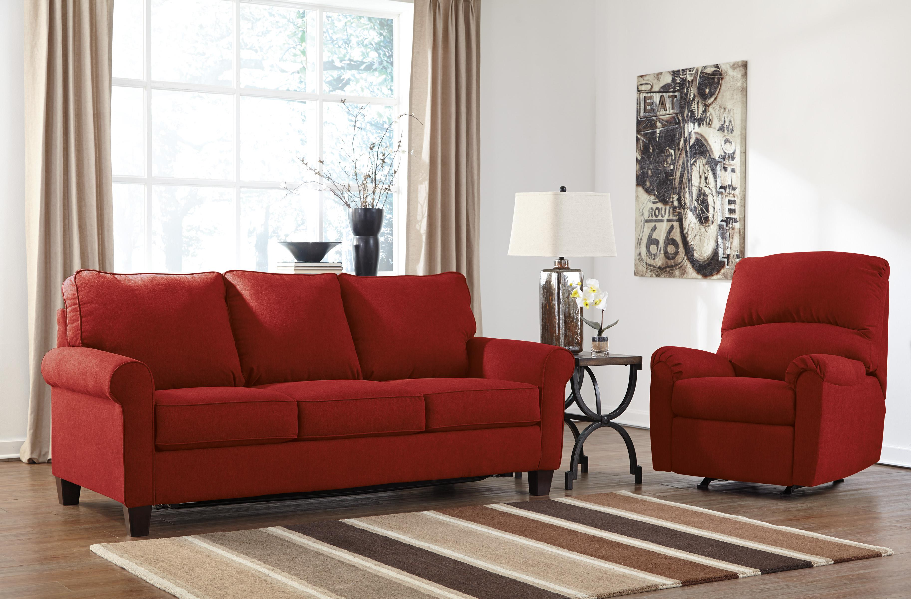 Signature Design by Ashley Zeth - Crimson Stationary Living Room Group - Item Number: 27102 Living Room Group 3