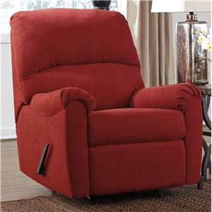 Signature Design by Ashley Zeth - Crimson Rocker Recliner