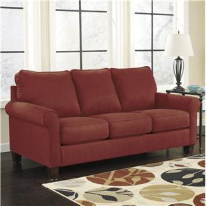 Ashley Signature Design Zeth - Crimson Full Sofa Sleeper