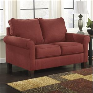 Signature Design by Ashley Zeth - Crimson Twin Sofa Sleeper