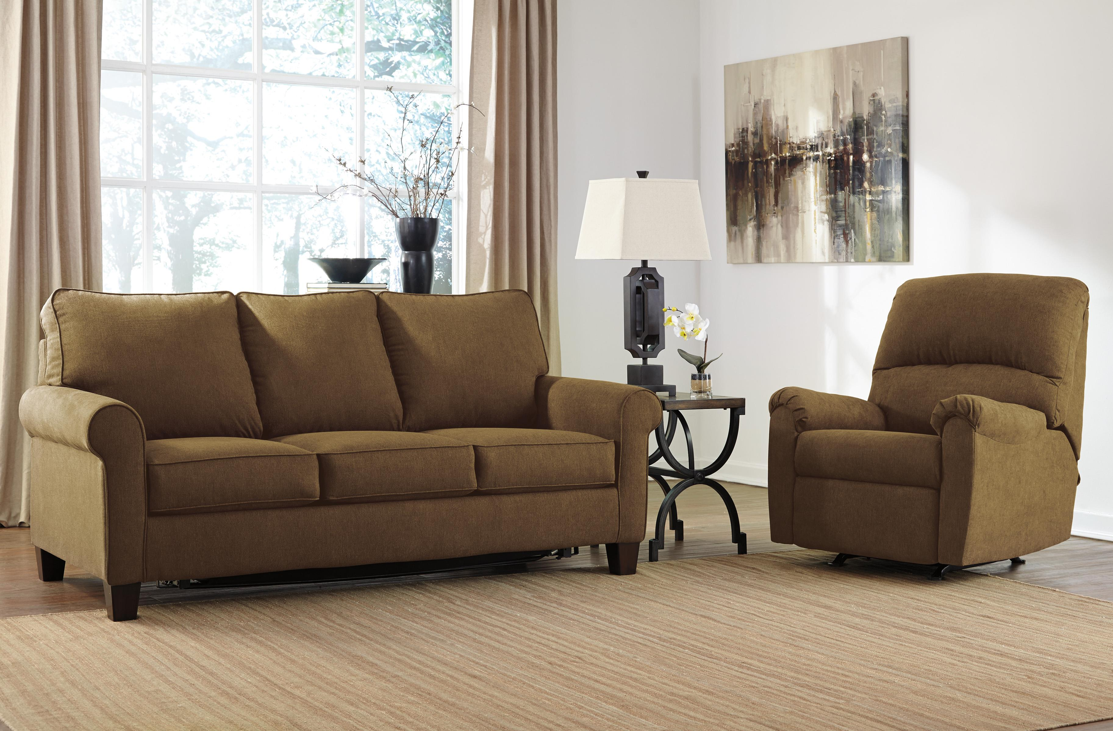 Signature Design by Ashley Zeth - Basil Stationary Living Room Group - Item Number: 27103 Living Room Group 1