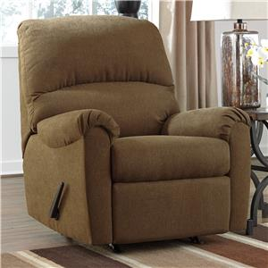 Ashley Signature Design Zeth - Basil Rocker Recliner