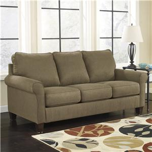 Signature Design by Ashley Zeth - Basil Queen Sofa Sleeper