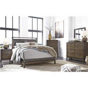 Trendz Teegan 4-Piece Queen Bedroom Set