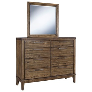 Signature Design by Ashley Zilmar Dresser & Bedroom Mirror