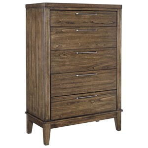 Signature Design by Ashley Zilmar Five Drawer Chest