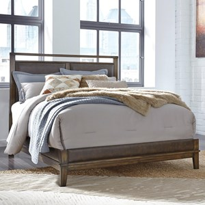 Signature Design by Ashley Zilmar Queen Upholstered Panel Bed