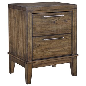 Signature Design by Ashley Zilmar Two Drawer Night Stand