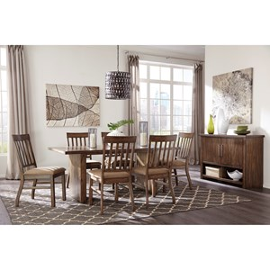 Signature Design by Ashley Zilmar Casual Dining Room Group