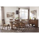 Signature Design by Ashley Zilmar Contemporary Dining Upholstered Side Chair with Slat Back
