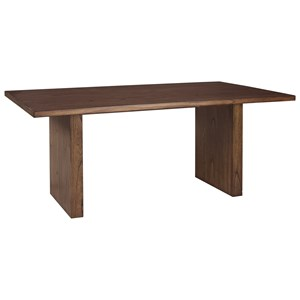 Signature Design by Ashley Zilmar Rectangular Dining Room Table
