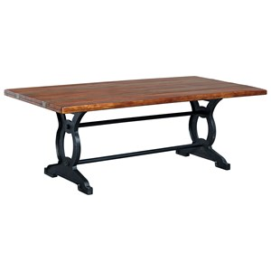 Signature Design by Ashley Zurani Rectangular Dining Room Table