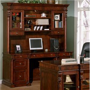 Signature Home Furnishings Monticello Credenza Desk U0026 Hutch