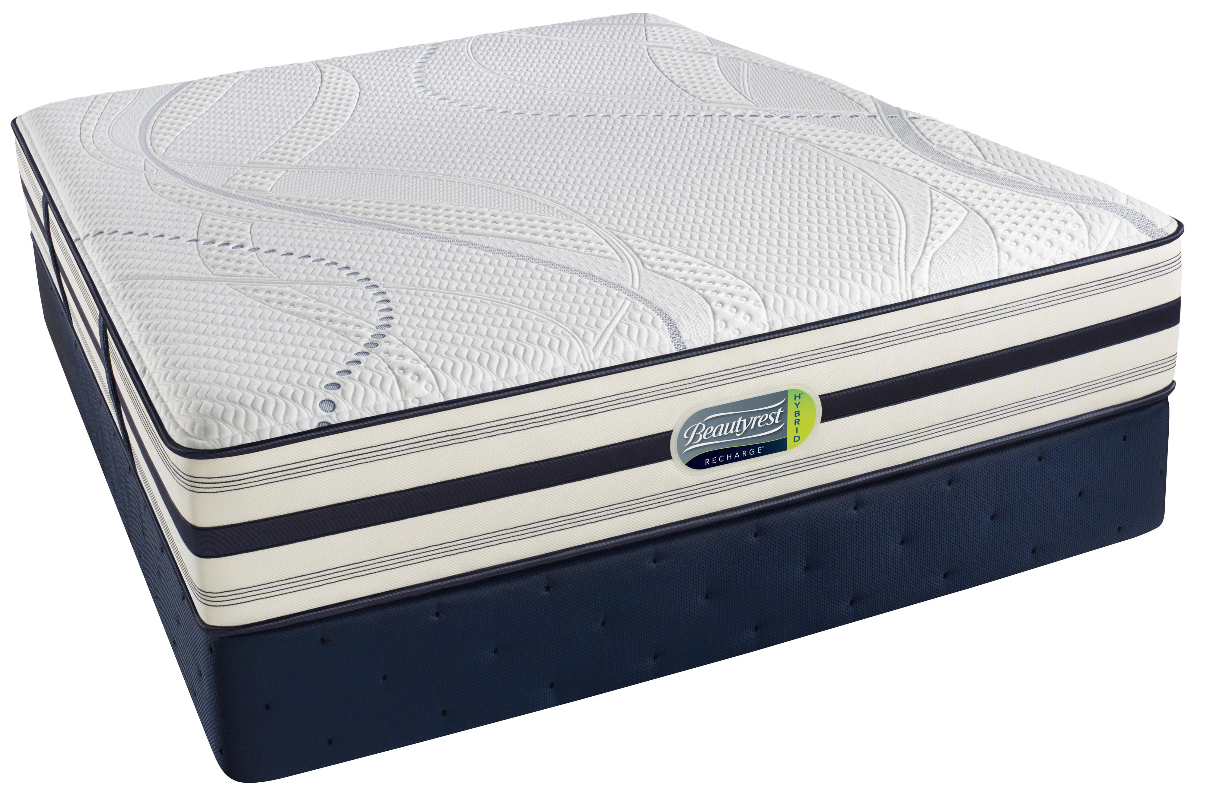 Beautyrest Beautyrest Recharge Hybrid - Altman King Hybrid Luxury Firm Mattress - Item Number: 29579K