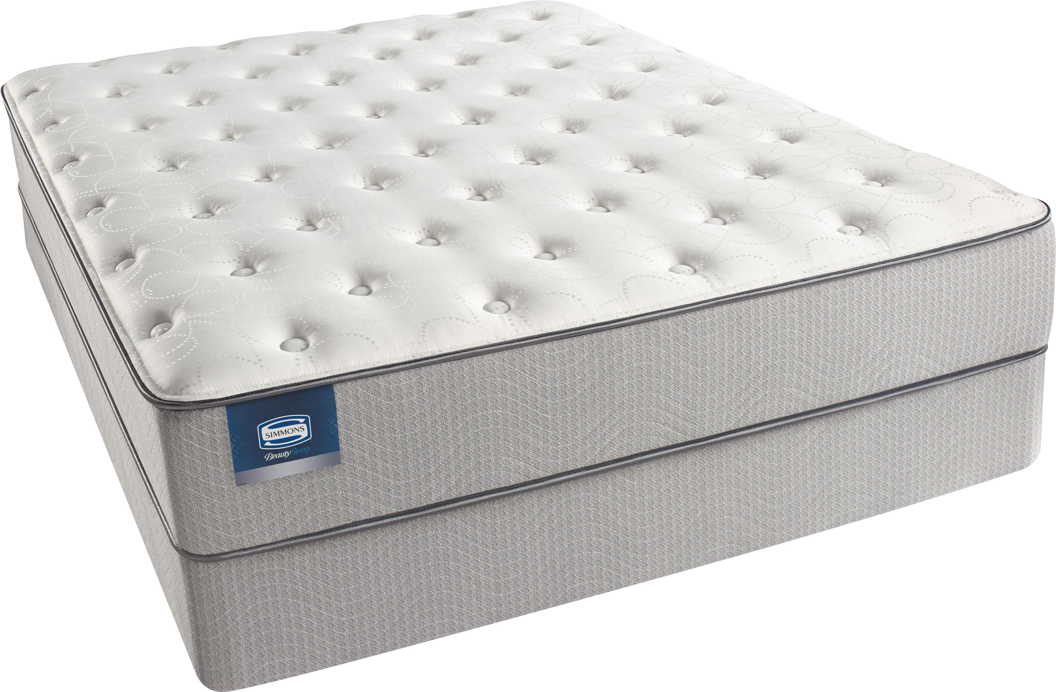 Beautyrest Beautysleep Andrea 2015 Queen Plush Mattress Set - Item Number: 700600500Q+700600775Q