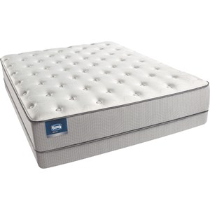 Simmons Beautysleep Coral Island Queen Plush Mattress Set, LP