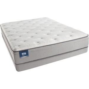 Simmons Beautysleep Caitlyn Queen Plush Mattress Set, LP