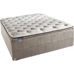 Simmons BeautySleep Cherish Queen Pillow Top Mattress Set