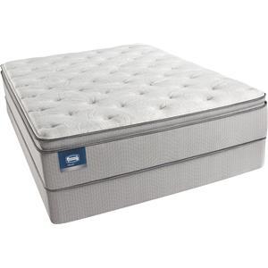 Simmons Bolivar Queen Plush Pillow Top Mattress Set