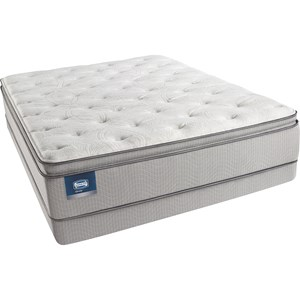 Simmons Beautysleep Erica Queen Luxury Firm PT Mattress Set, LP
