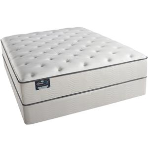 Simmons BeautySleep Knottingwood Queen Plush Mattress Set