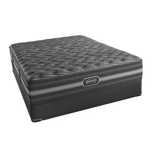 Simmons BR Black Mariela Queen Extra Firm Mattress Set, LP