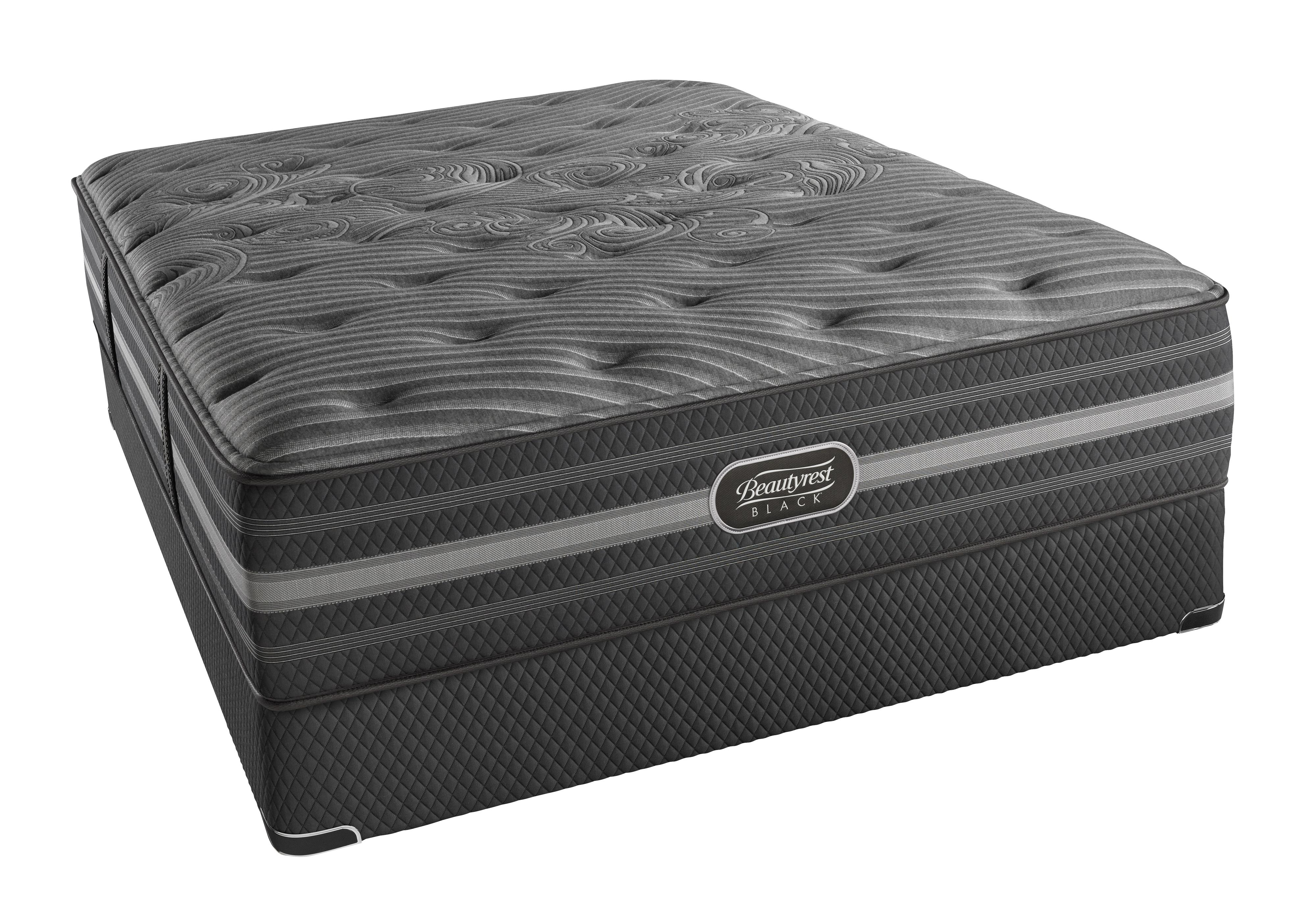 Simmons BR Black Mariela Queen Luxury Firm Mattress Set, HP - Item Number: BRBLUXURYFM-Q+700730112-5050