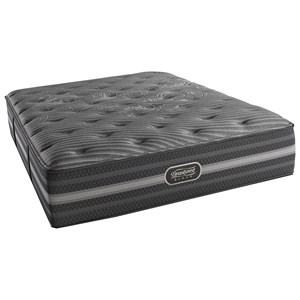 Simmons BR Black Mariela Queen Plush Mattress
