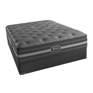 Simmons BR Black Mariela Full Plush Mattress Set, LP
