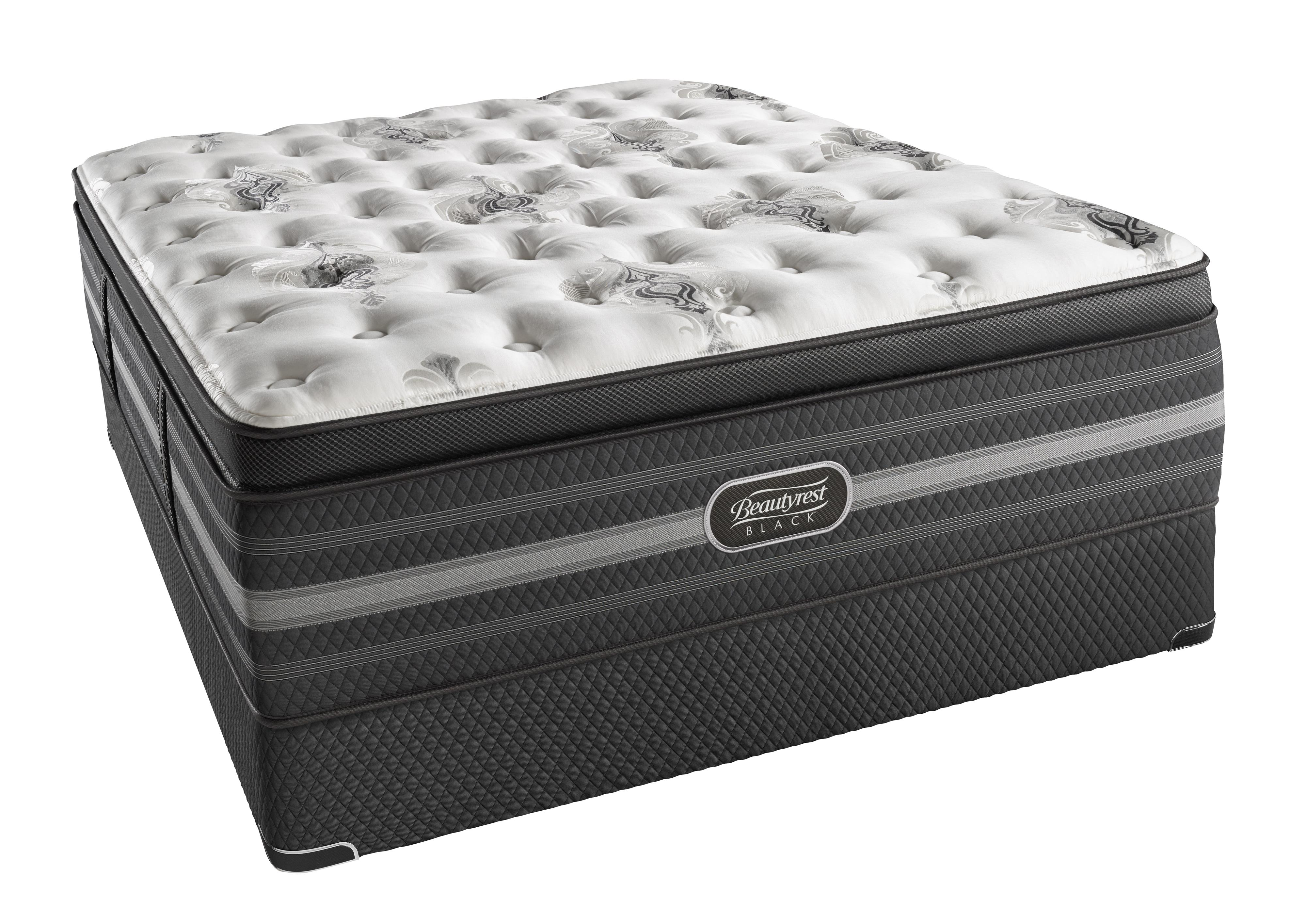 Simmons BR Black Tatiana Qeen Ultra Plush P.T. Mattress Set, Adj - Item Number: BRBULTRAPLPT-Q+SM2-Q