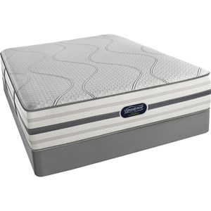 Simmons BR Hybrid Woodcliff Queen Firm Hybrid Mattress Set