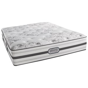 "Beautyrest BR Platinum Brittany Queen Firm 13.5"" Mattress Set, Adj"
