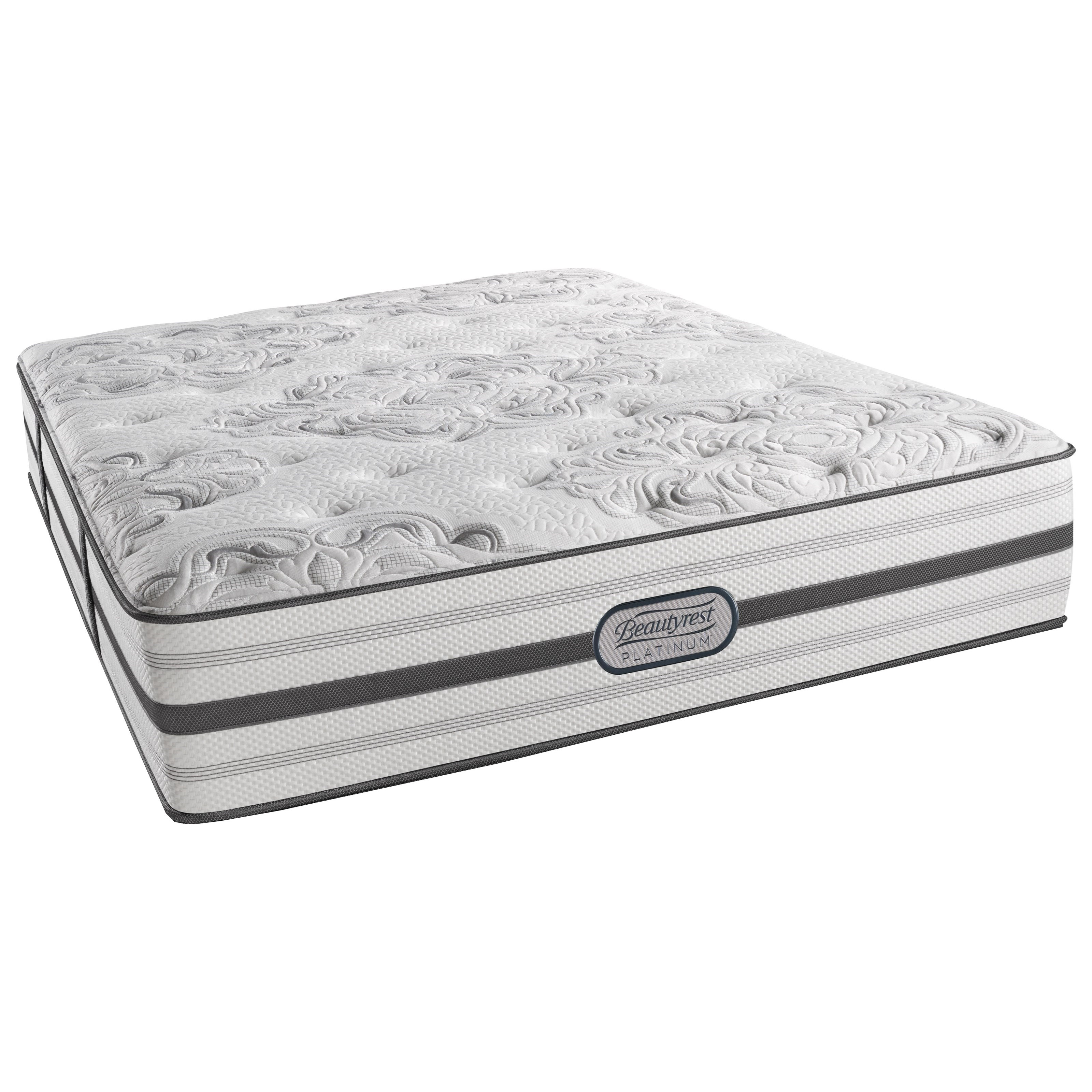 "Beautyrest Platinum Brittany Twin Plush 14.5"" Mattress - Item Number: LV2PL-T"