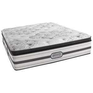 "Beautyrest BR Platinum Gabriella Queen Luxury Firm PT 15"" Mattress Set, Adj"