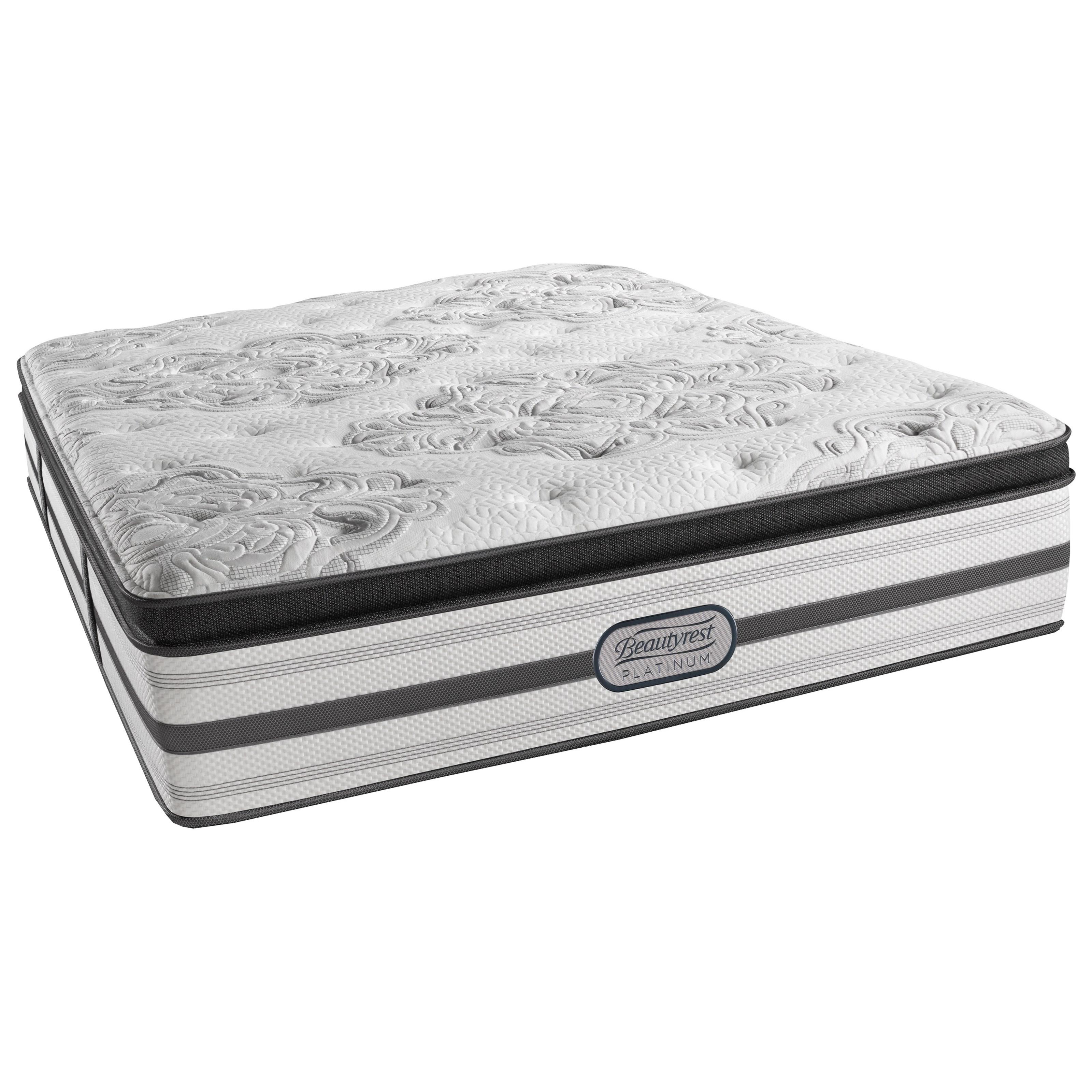 Beautyrest Platinum Gabriella Twin XL Lux Firm Pillow Top Adjustable Set - Item Number: LV3LFPT-TXL+SM1-TXL