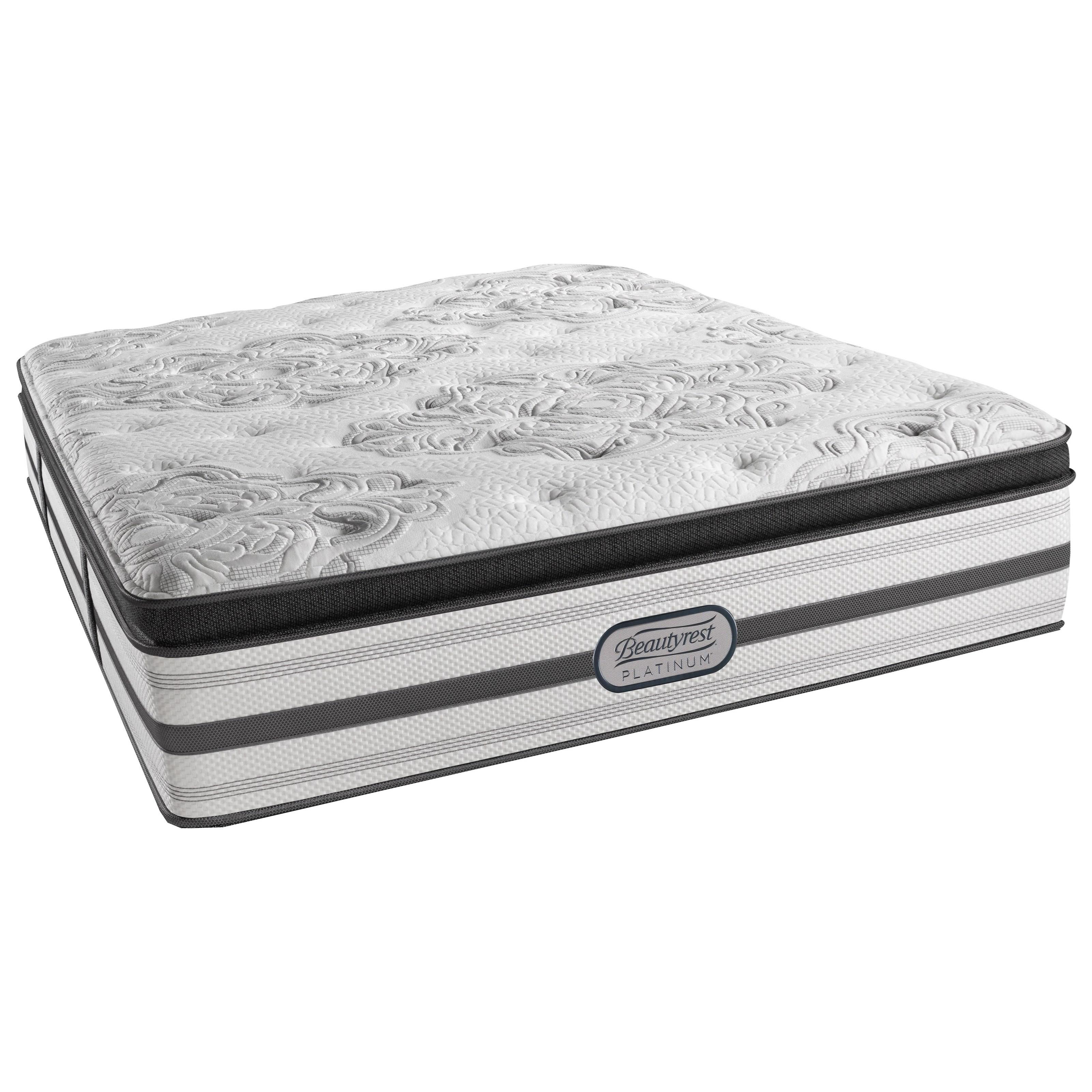 Beautyrest Platinum Gabriella Cal King Plush Pillow Top Adjustable Set - Item Number: LV3PLPT-CK+2xSM1-SPCK