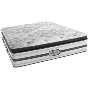 "Simmons BR Platinum Sonny King Plush Pillow Top 15"" Mattress"