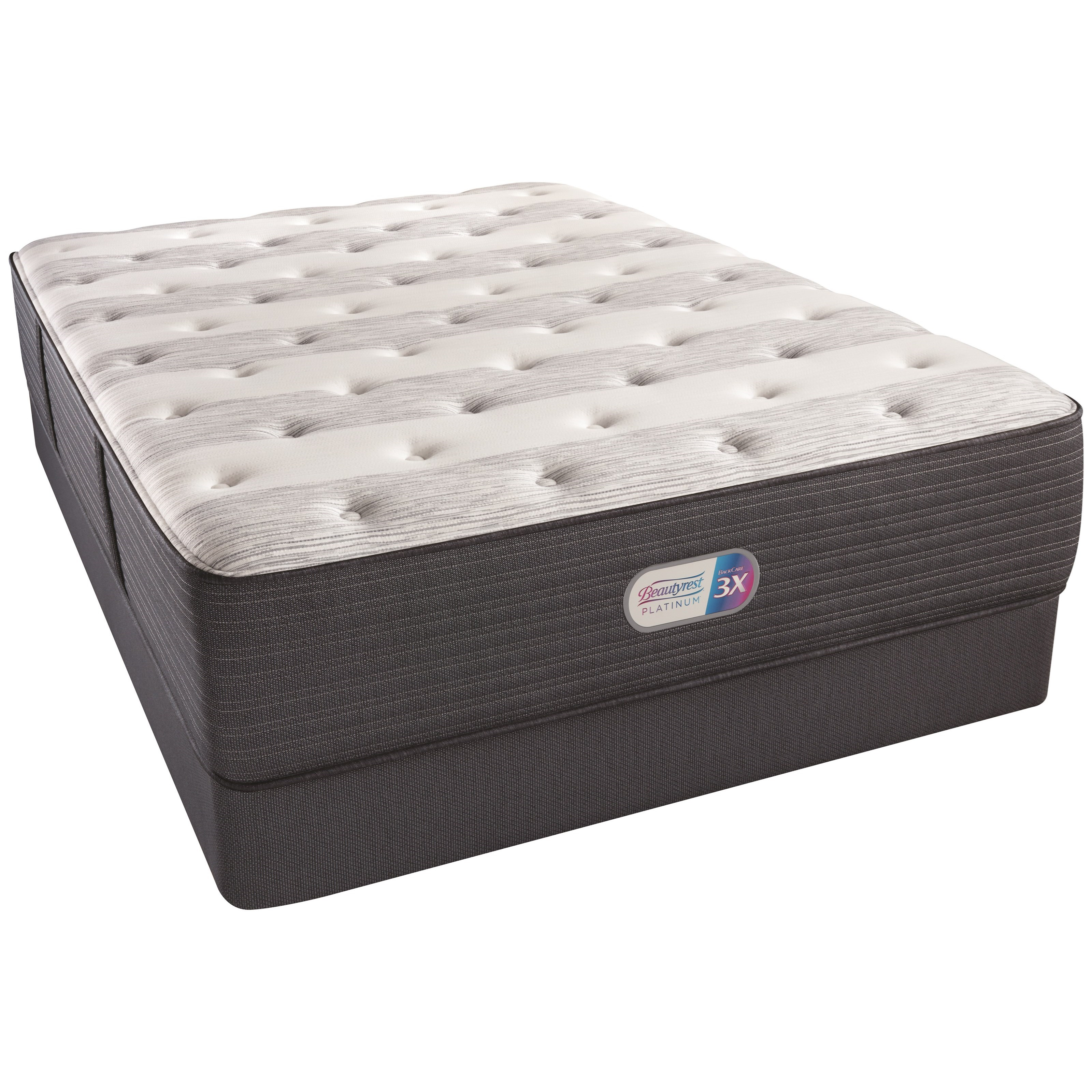 Beautyrest Platinum Kenway Plush Beautyrest Twin XL Set - Item Number: 145Plush-TXL+700600254-5020