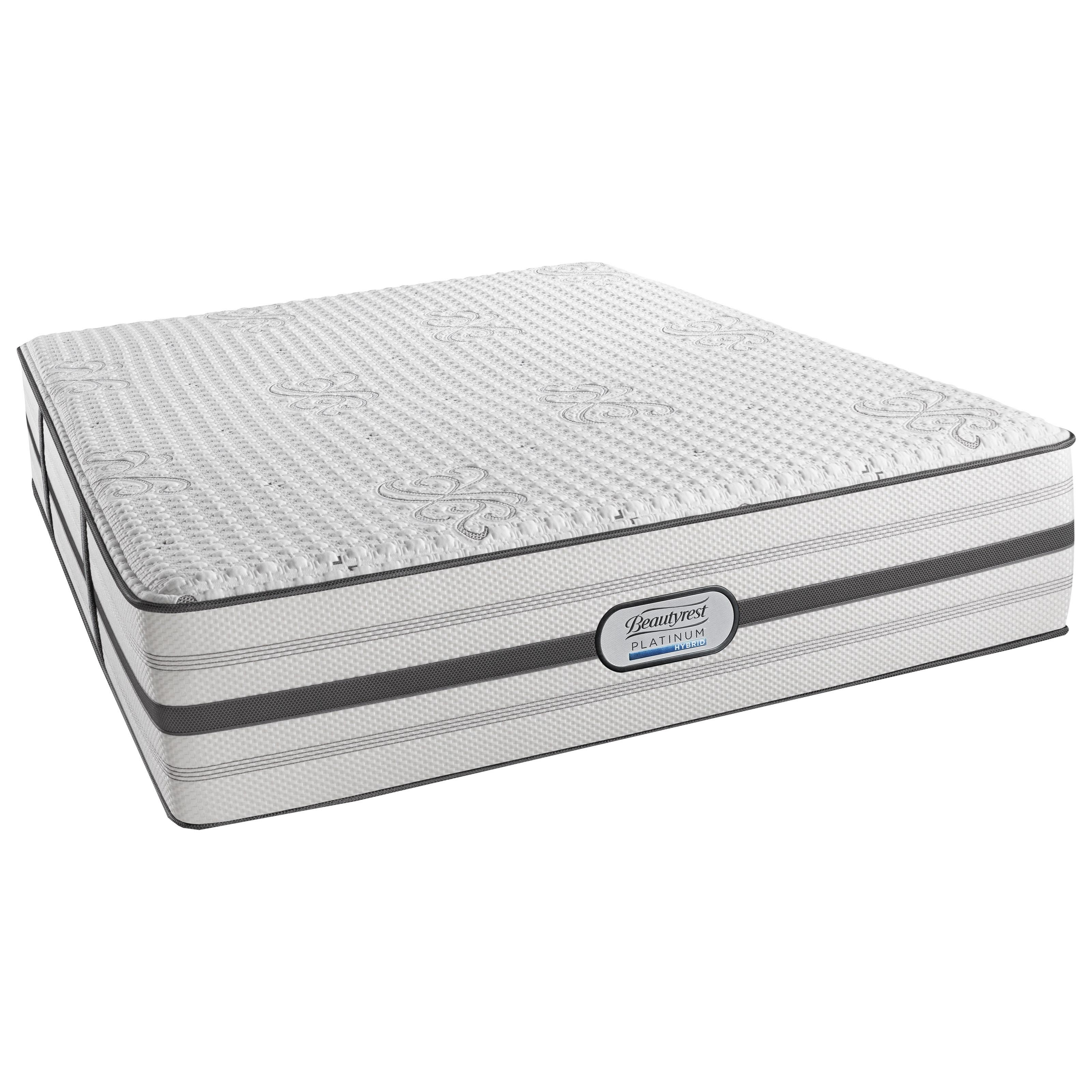 Beautyrest Platinum Austin Cal King Luxury Firm Adjustable Set - Item Number: BRHLV1LF-CK+2xSM1-SPCK